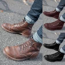 <b>Men Fashion</b> Autumn Winter <b>Men</b> Boot Shoes Vintage <b>British Style</b> ...