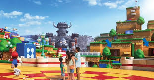 Leaked photos of Universal Studios' Super Nintendo World theme ...