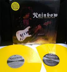 <b>Rainbow</b> – <b>Long Island</b> 1979 (Limited Edition Yellow Double LP ...