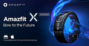 <b>Amazfit</b> X Curved <b>Smartwatch</b>: Bow to the Future | Indiegogo