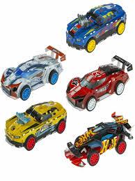 Конструктор <b>Hot Wheels сборная модель</b> 5 в 1 (5 автомобилей, 2 ...