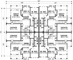images about multi family house plans on Pinterest   House       images about multi family house plans on Pinterest   House Plans And More  Duplex Plans and Duplex House Plans