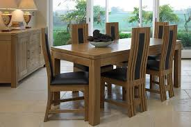 extendable dining table set: large glass dining table and  chairs dining tables ideas