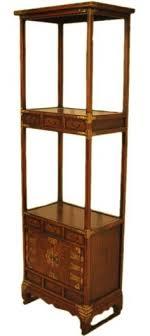oriental furniture wooden korean bookcase with six drawers two doors amazoncom oriental furniture korean antique style liquor