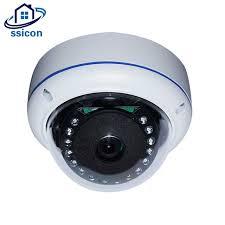 SSICON <b>4MP AHD</b> Outdoor Camera 15Pcs <b>IR</b> Leds <b>Dome</b> Home ...
