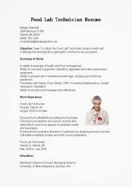 resume for lab technician resume for lab technician 2839