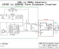 adaptable 12vdc 220vac pure sinewave inverter Sine Wave Inverter Circuit Diagram Sine Wave Inverter Circuit Diagram #41 sine wave inverter circuit diagramusing 555