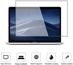 <b>Clear Tempered Glass Screen</b> Protector Film For Macbook Air ...