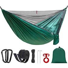 UnAmico Double Camping <b>Hammock</b> With Mosquito Bug <b>Net</b> and ...