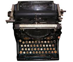 Keeping Your Profile Fresh  Profile Text   Muddy Matches Dating Advice Black old fashioned type writer with round metal keys