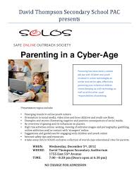 trafalgar pac parenting in a cyber age
