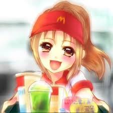 Image result for mcdonalds anime