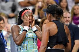 Cheers for Tears: An emotional ending to Naomi Osaka vs. <b>Coco</b> Gauff