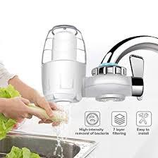 Home Use <b>7 Layers Water</b> Softener <b>Filter</b> Kitchen <b>Faucet</b> Mount ...