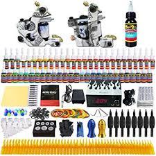 Solong Tattoo® Complete Tattoo Kit 2 Pro Machine ... - Amazon.com