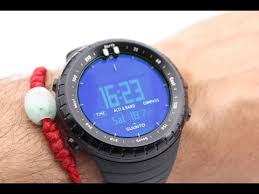 <b>Suunto Core</b> All Black Military Watch - YouTube