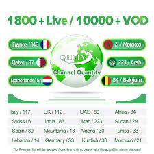 <b>IPTV France Arabic QHDTV</b> 1 Year IP TV Leadcool X Android 7.1 1G ...