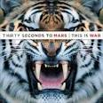 This is War album by 30 Seconds to Mars