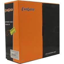 <b>Кабель FTP Exegate</b> EX281812RUS <b>FTP</b> 5e 100 метров — купить ...
