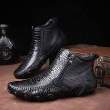 Fashion <b>Genuine Leather Men Chelsea</b> Ankle Boots in 2019 | Shoes ...