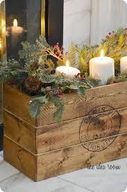 vintage decor clic: vintage diy crate christmas vintage crate  vintage diy crate