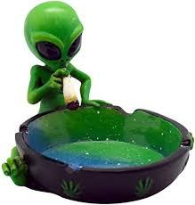 Fantasy Gifts Alien Smoking Ashtray, 4 inches ... - Amazon.com