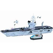<b>Конструктор ENLIGHTEN BRICK Авианосец</b> - 990 деталей ...