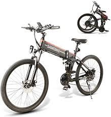 <b>SAMEBIKE LO26</b> Electric <b>Bike Moped</b> Spoke Rim Folding Ebike 48V ...