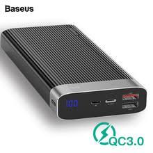 <b>Портативное</b> Внешнее <b>зарядное устройство Baseus</b>, 20000 мАч ...