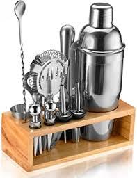 Buy Bartending Kit, <b>14</b>-<b>Piece Bar</b> Tools with Stand <b>Bar</b> Kit, <b>Cocktail</b> ...