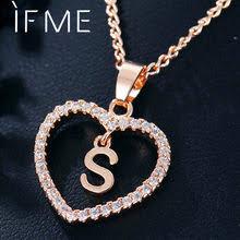 Выгодная цена на Gold Necklace <b>Letter</b> S — суперскидки на Gold ...