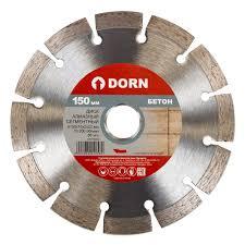 <b>Диск алмазный</b> DORN <b>сегментный</b> 150х2х22 мм купить недорого ...
