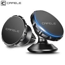 Cafele Magnetic Car Phone Holder <b>360 Degree Rotation</b> Aluminum ...