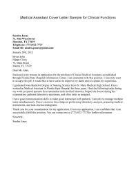 sandra jonas medical assistant cover letter mid west street sandra jonas medical assistant cover letter mid west street houston telephone email address bryan john