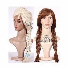 Free Cap+<b>Adult Princess</b> Elsa Anna <b>Snow Queen</b> Frozen Weaving ...