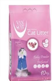 <b>Van Cat</b> 10 kg <b>Baby</b> Powder Perfumed White Bentonite Clumping ...