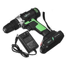 Raitool™ <b>21V Cordless Electric Screwdrivers</b> Driver Power Lithium ...