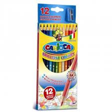 Отзывы о <b>Карандаши цветные Carioca</b> 12 цветов