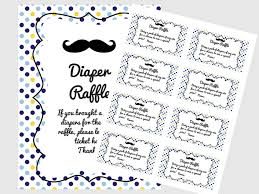 mustache little man baby shower diaper raffle ticket cards and mustache little man baby shower diaper raffle ticket cards and sign magical printable