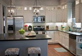 modern wonderful kitchen lighting ideas with pendant light and small storage blue cabinet kitchen lighting