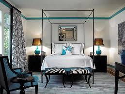 black blue black blue bedroom