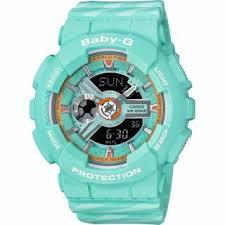 <b>Часы женские CASIO BA</b>-<b>110CH</b>-<b>3A</b>: полимер — купить в ...