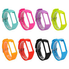 <b>Silicone</b> Watch <b>Band Wristband Bracelet</b> Replacement For Polar ...
