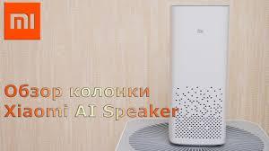 Обзор умной <b>колонки Xiaomi</b> Xiao <b>Ai Speaker</b> - YouTube