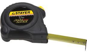 <b>Рулетка STAYER АutoLock</b> 3м*16мм, прорезиненный корпус ...