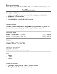 sample resume for a sales associate  socialsci cosales resume professional resume template retail associate resume retail sales associate job description resume sample retail sales associate resume samples