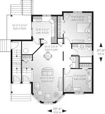 Mulhall Multi Family Triplex Plan D    House Plans and MoreMulti Family House Plan First Floor   D    House Plans and More