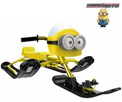 <b>Снегокат Snow Moto MINION</b> Despicable ME yellow купить ...