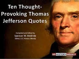 Thomas Jefferson's Quotes via Relatably.com