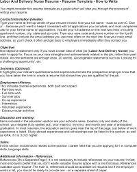 sample rn resume with  swaj eusample nurse resume labor and delivery labor and delivery nurse resume   sample rn resume